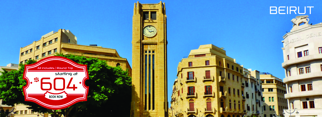 Beirut as low as $604