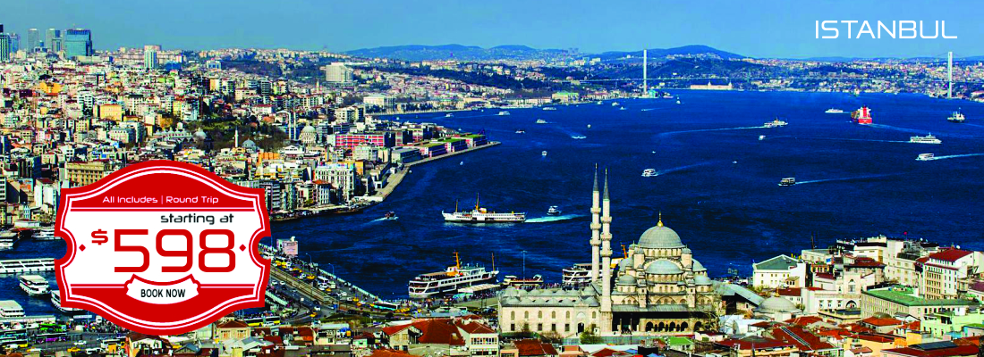 Istanbul as low as $598!