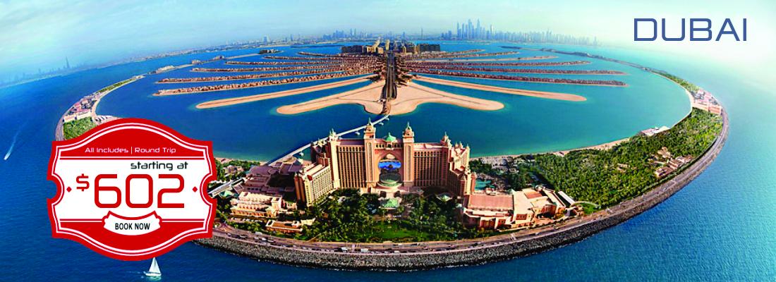 Dubai starting at $602