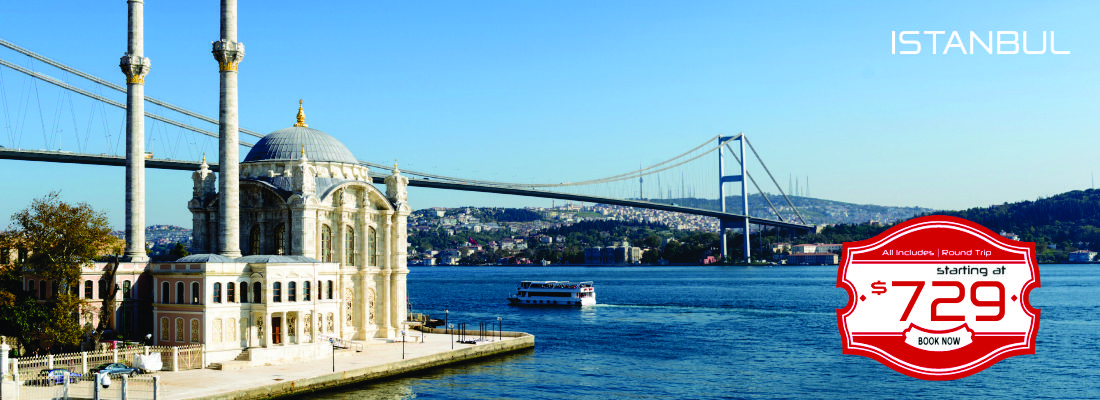 istanbul as low as $729!